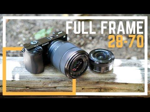 Sony Full Frame 28-70mm Kit Lens + 16-50mm Comparison