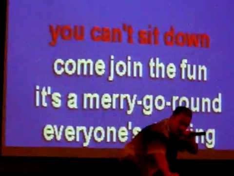 "Cancun Karaoke---Lionel Richie's..""All Night Long"""