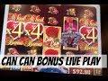 CAN CAN BONUS PLAY @ Graton Casino  NorCal Slot Guy