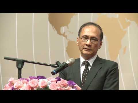 2017年5月15日 林揆向僑領宣示推動前瞻建設決心 盼為台灣未來奠定基礎