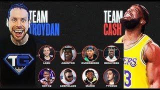 Team Troydan vs Team Cash - NBA 2K20 Youtuber Team up