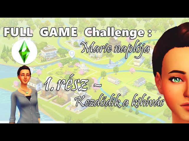 KEZDŐDIK A KIHÍVÁS! - Marie Naplója 1.rész, FULL GAME Challenge