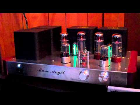 Demo Music Angel EL34 Tube Amp.