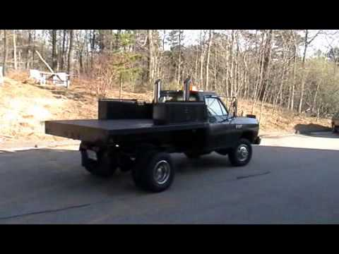 dodge ram truck with stacks