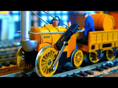 Thomas The Rocket Engine St Lukes Model Train & Tram Show 2015