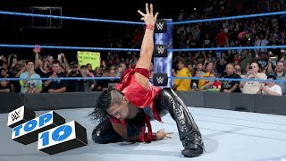 Top 10 SmackDown LIVE moments: WWE Top 10, June 20, 2017