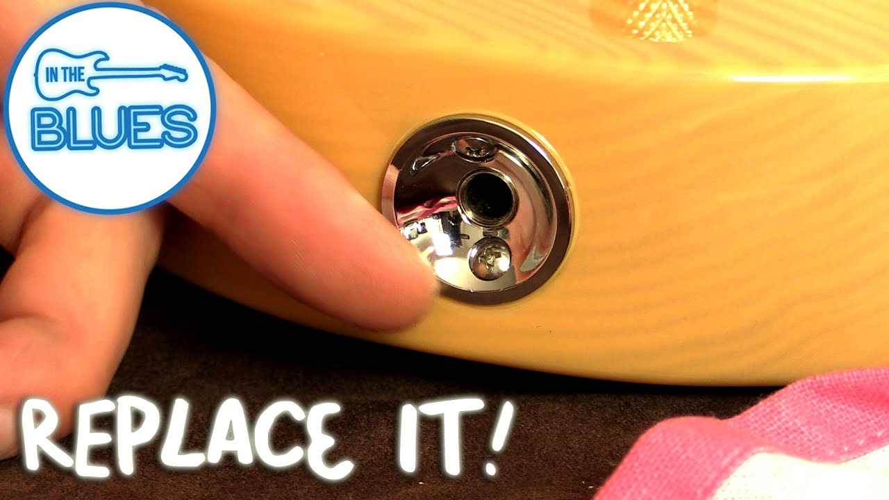 Bridge Wiring Diagram How To Upgrade And Replace A Telecaster Jack Socket Cup