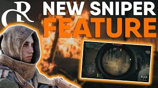 Snipers Getting BUFFED Sniper Depth of Field NEW FEATURE Battlefield 1 CTE News