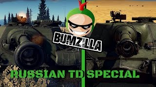 War Thunder ( Object 268 and SU 122-54 TD special )