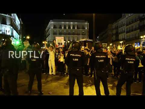 Spain: One arrested at Madrid pro-independence Catalan referendum rally