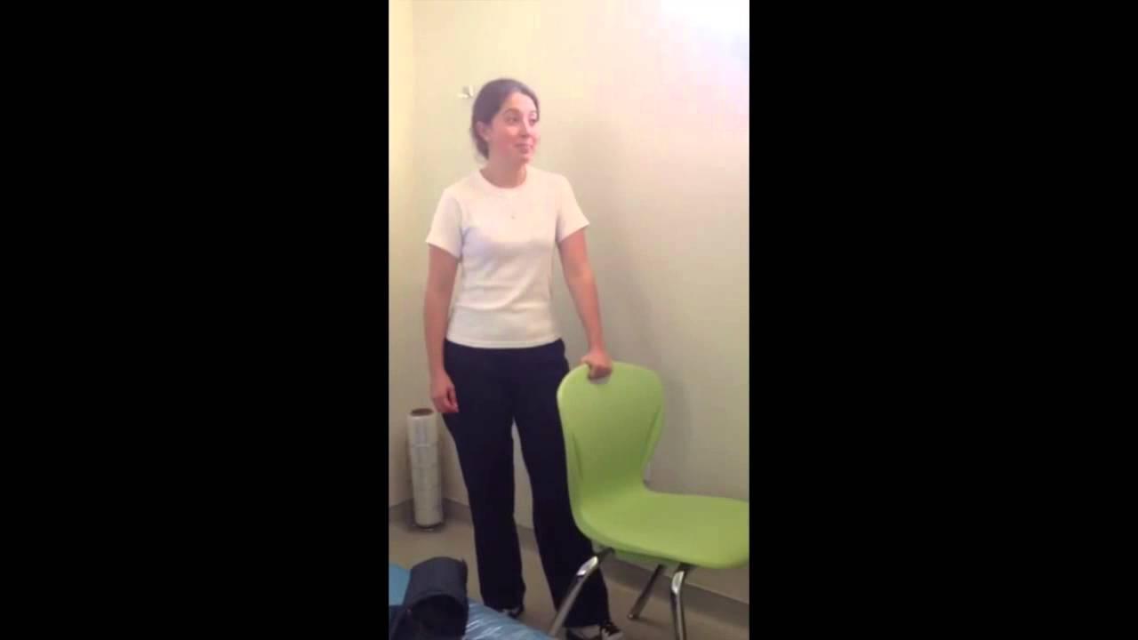 Prueba de la silla