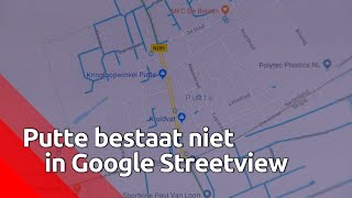 Waarom raakt Google Streetview de weg kwijt in Putte?