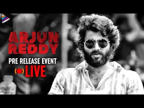 arjun-reddy-pre-release-full-event-|-vijay-deverakonda-|-shalini-|-#arjunreddy-telugu-movie