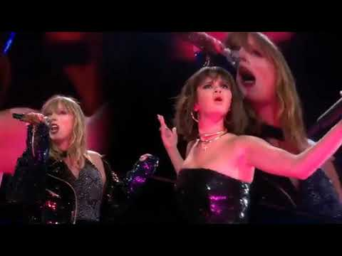 Taylor Swift And Selena Gomez - Hands To Myself (reputation Stadium Tour Live)