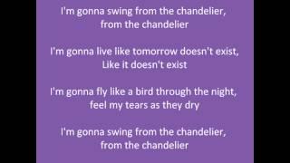 Parole : Sia - Chandelier