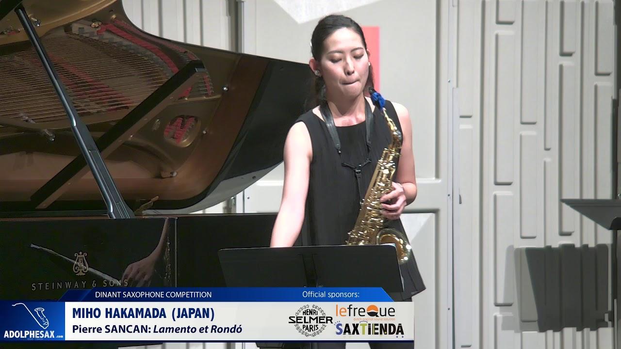 Miho Hakamada (Japan) - Lamento et Rondo by Pierre Sancan (Dinant 2019)