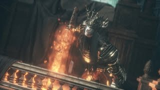 Dark Souls 3: Lothric, Younger Prince and Lorian, Elder Prince Boss Fight (4K 60fps)