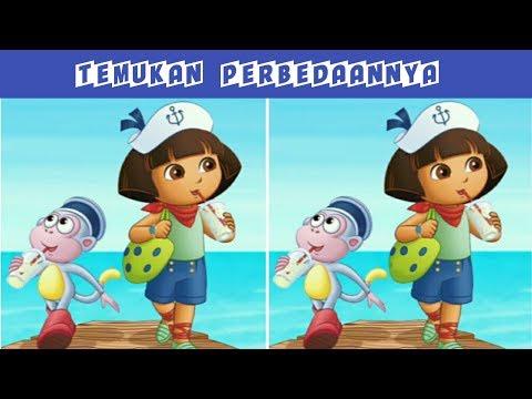Apakah Anda Teliti??? Coba Temukan Perbedaan Pada Gambar Berikut - Edisi Dora The Exploler