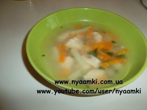Вкусно и просто рецепт легкого диетического супа с овсянкой видео рецепт