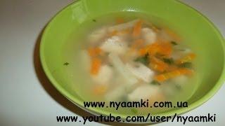 Вкусно и просто: Рецепт легкого диетического супа с овсянкой. Видео рецепт.