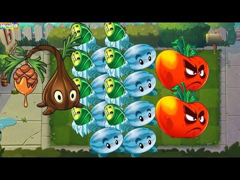 Download Plants vs Zombies 2 Epic | Team Plants Max Level Fizi Power Up! Team Winter Melon vs Sap Fling