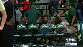 Bystanders jump into action when man suffers cardiac arrest at Cal Poly game