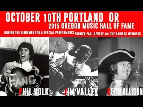 """Raiders Reunion"" at the Oregon Music Hall Of Fame Ceremony 2015"