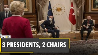 'SofaGate': Turkish Sofa arrangement hits European Union | Ursula Von Der Leyen | EU | Turkey News