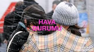 HAVA DURUMU (28 ŞUBAT 2019) #İstanbul Ve #Ankara'da Kar Varmı? #Bolu, #Hakkari'de Yoğun Kar Yağışı!!