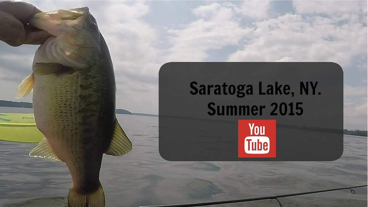 Saratoga lake fishing youtube for Saratoga lake fishing