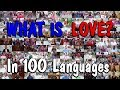 What Is Love? 100 People Explain in 100 Different Languages In NYC
