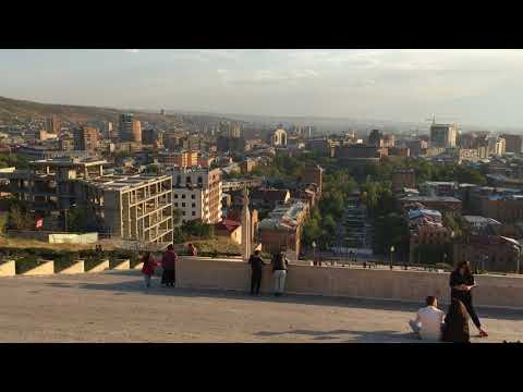 Yerevan Panorama @ Cascade Complex