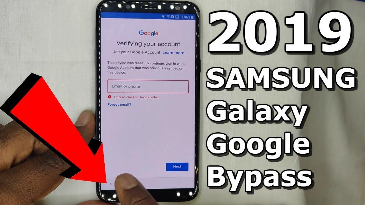 2019 Bypass Google Account Verification SAMSUNG J6,J8,A8,J4,ON6,ON8,
