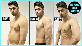 WATER FASTING RESULTS | 7 DAYS NO FOOD