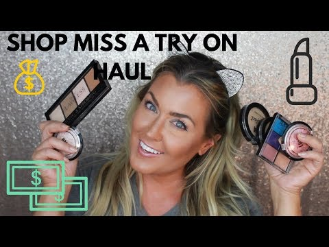 SHOP MISS A TUTORIAL | HAUL | REVIEW | HOT MESS MOMMA MD