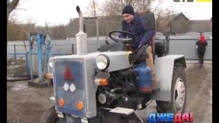 відео про те як зробити саморобний трактор