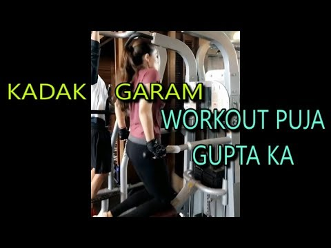 HOT WORKOUT OF ACTRESS PUJA GUPTA