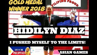 HIDILYN DIAZ WINS PHILIPPINES FIRST GOLD MEDAL IN 2018 ASIAN GAMES