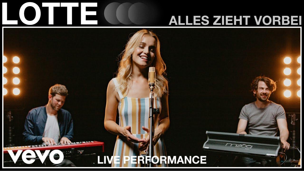 Download LOTTE - Alles zieht vorbei | Live Performance | Vevo