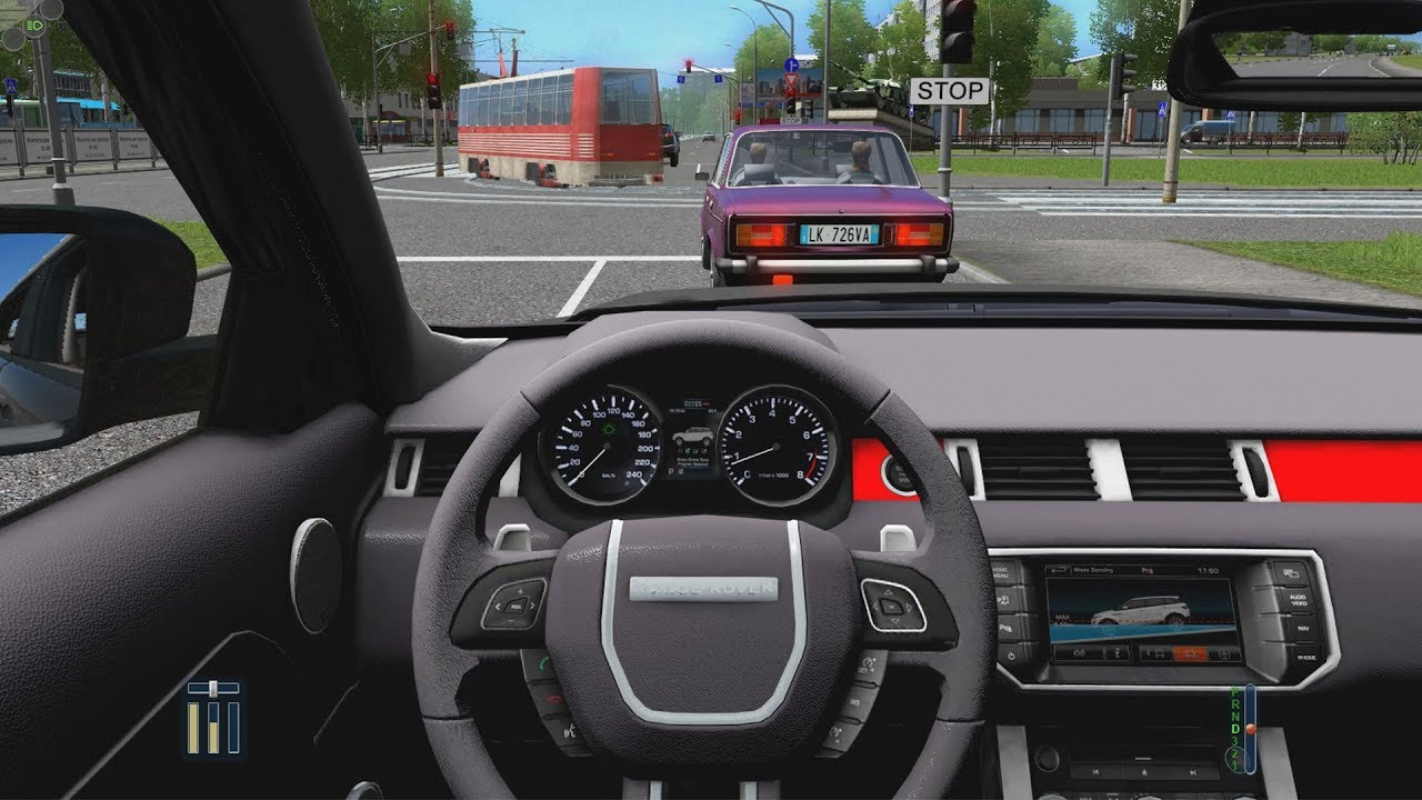 City Car Driving Range Rover Evoque Normal