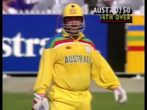 Rare 1992 Cricket World Cup Match 36 Australia V West Indies Highlights
