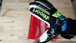 Présentation des gants Uhlsport Fangmaschine absolutgrip Finger Surround