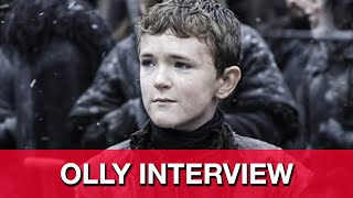 Game of Thrones Season 5 Finale Olly Interview - Brenock O