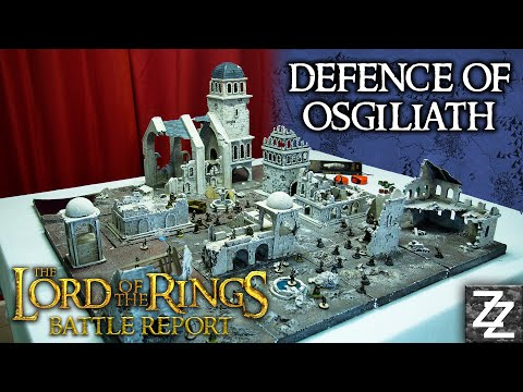The Defence of Osgiliath BATTLE REPORT ~ Gondor at War Campaign Ep 1