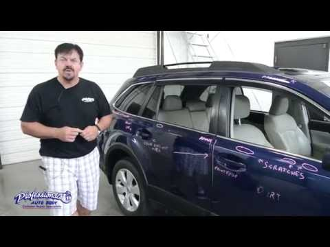 THIS CAR IS TRASHED!!! Subaru Post Repair Inspection