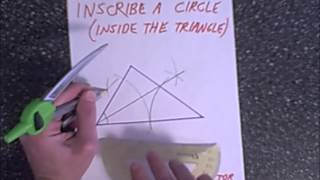 geometry construction inscribe circumscribe circles