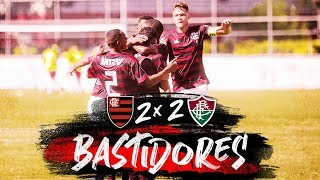 Flamengo 2 x 2 Fluminense - 1º jogo da final da Taça GB Sub-17