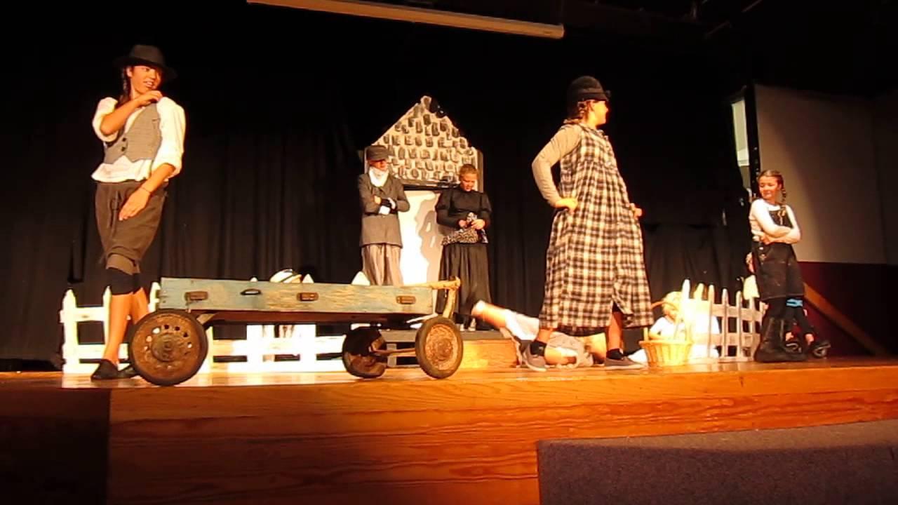 Wizard Of Oz Farm Scene At Wells