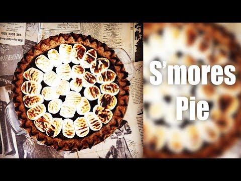 S'mores Pie - FOOD WAR