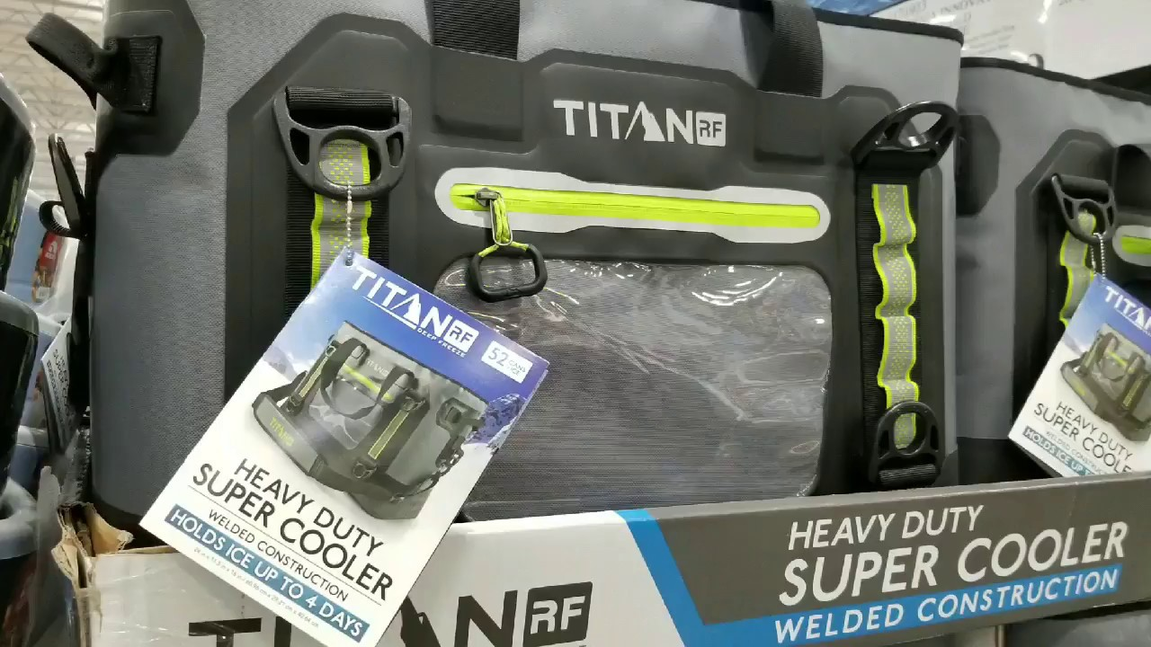 new concept a6e5f 4247f Costco! Titan RF Welded 35 Qt Heavy Duty Super Cooler Tote! $139!!!